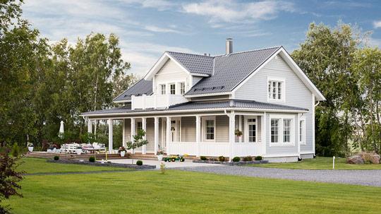 Kreivitalon kauniit ja modernit talomallit - Iso-Antti